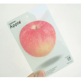 Apple red sticky memo notes 20 sheets