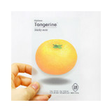 Tangerine sticky memo notes