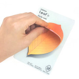 Leaf sticky memo notes 20 sheets - D