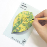 Leaf sticky memo notes 20 sheets - C