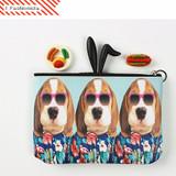 Fashionista - Fashionable animal zipper pouch