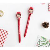 Lucy - Hellogeeks christmas black gel pen
