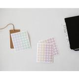 Transparent circle deco sticker set ver.2