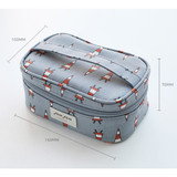 Size of Jam Jam cute illustration make up cosmetic pouch