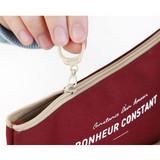 Zipper - Basic coated cotton zipper pen pencil case