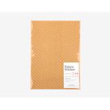Fabric sticker 1 sheet A4 size - Yellow dot