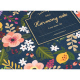 Detail of Pour vous harmony lined notebook medium