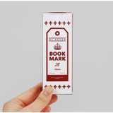 Carry on vintage bookmark set