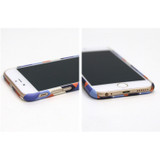 Detail of geometric pattern polycarbonate case for iPhone 6