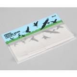 Animal translucent sticky memo note set