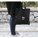 Life and Travel small pouch tote bag