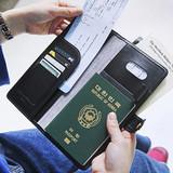 Monopoly Travel RFID blocking long passport case ver.4
