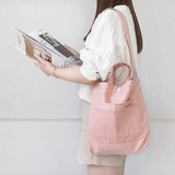 Pink - Around'D two pocket bag - small