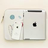 Rim pattern 13 inches laptop pouch case