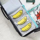 Banana - Clear zip lock pouch bag