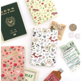 Willow story pattern soft passport cover