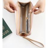Light beige - Walking in the air passport organizer wallet