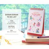 Jam studio Doran Doran wirebound To do list desk notepad