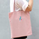 Sea horse - Tailorbird impress contrast pastel eco tote bag