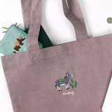 Donkey - Tailorbird impress contrast pastel eco tote bag
