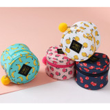 Pop art small tambourine round pouch