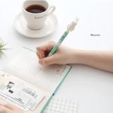 Moomin - Moomin figure 0.5mm black ballpoint pen