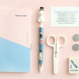 Moomin papa - Moomin figure 0.5mm black ballpoint pen