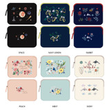 Rim pattern 15 inches laptop pouch case