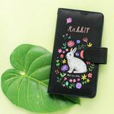Rabbit - Rim diary flip case for iPhone 6