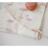 Flamingo - Animal pattern gift paper bag set