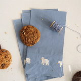 Friendly bear - Animal pattern gift paper bag set
