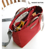 Magnet button - Holiday picks cross shoulder bag