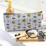 Smile - Hello pattern zipper pencil case