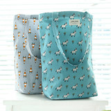Jam Jam cute pattern shoulder tote