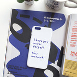White - This moment polycarbonate case for iPhone 6