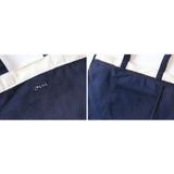 Detail of Around'D corduroy line shoulder bag tote
