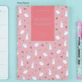 Rose rabbit - 2017 Ardium Pattern monthly dated planner