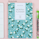 Blooming camellia - 2017 Ardium Pattern monthly dated planner