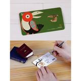 Bookfriends Parrot steel bookmark