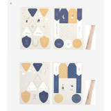 D - For your heart paper gift tag set