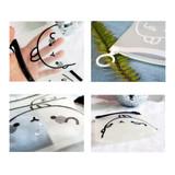 Bookcodi Molang zip lock medium pouch