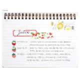 Free note - Bookcodi Molang undated weekly desk scheduler