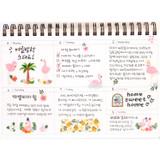 Weekly plan - Molang undated weekly desk scheduler