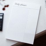 Wanna This Calli daily desk memo notepad