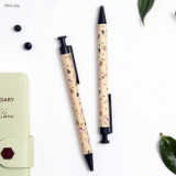 Olive pig - Toffeenut cute black ballpoint pen 0.7mm