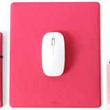 Pink - Fenice Office premium mouse pad