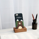 Bear - Iconic Pattern matte plastic hard case for iPhone 7
