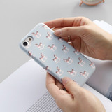 Horse - Iconic Pattern matte plastic hard case for iPhone 7
