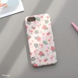 Flamingo - Iconic Pattern matte plastic hard case for iPhone 7