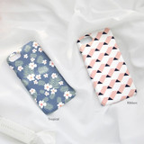 Tropical / Ribbon - Pattern matte plastic hard case for iPhone 7